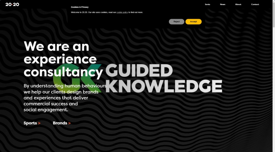 20.20 A Strategic Design Agency London   Retail   Hospitality   Leisure
