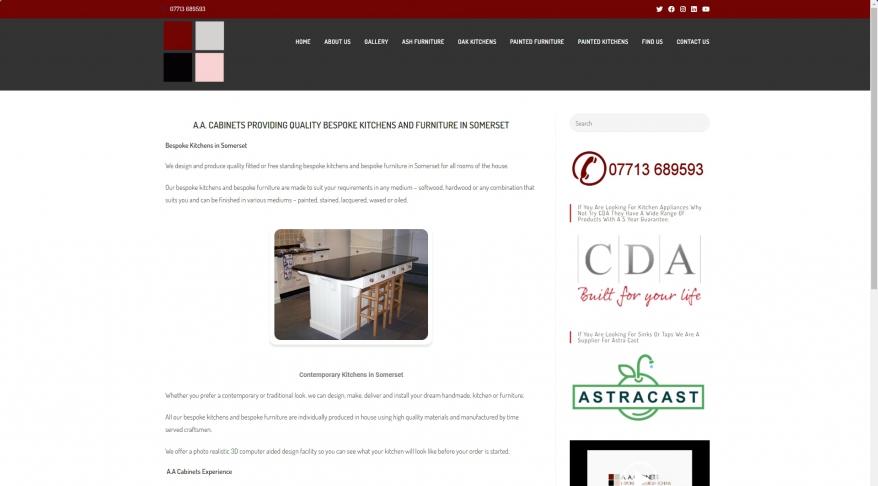 Bespoke Kitchens & Bespoke Furniture By AA Cabinets