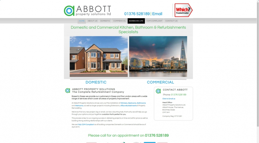 Abbott Property Maintenance and Refurbishment | Braintree Essex