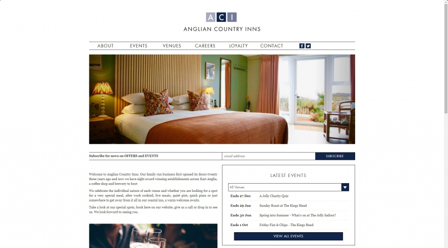 Anglian Country Inns | An Award Winning Hospitality Group