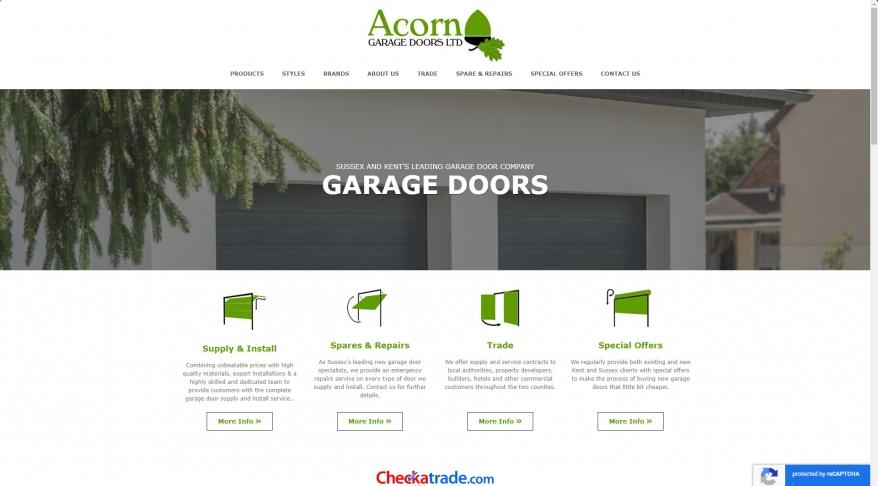 Acorn Garage Doors Repair - Garage Door Installation Sussex and Kent, UK