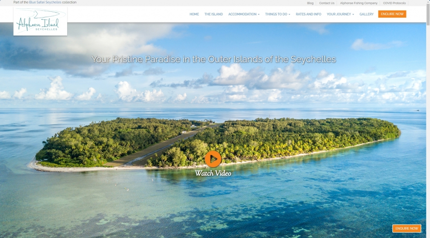 Alphonse Island - Private Island Holiday in The Seychelles