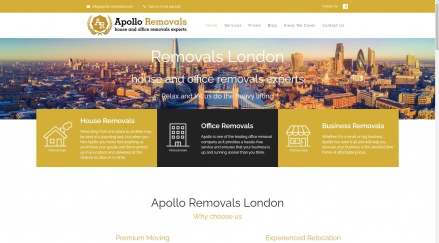 Apollo Removals London