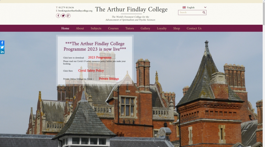 Arthur Findlay College of Psychic Science
