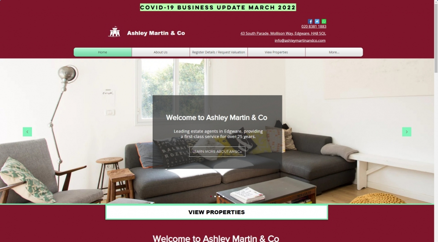 Ashley Martin & Co | Estate Agents | Greater London |