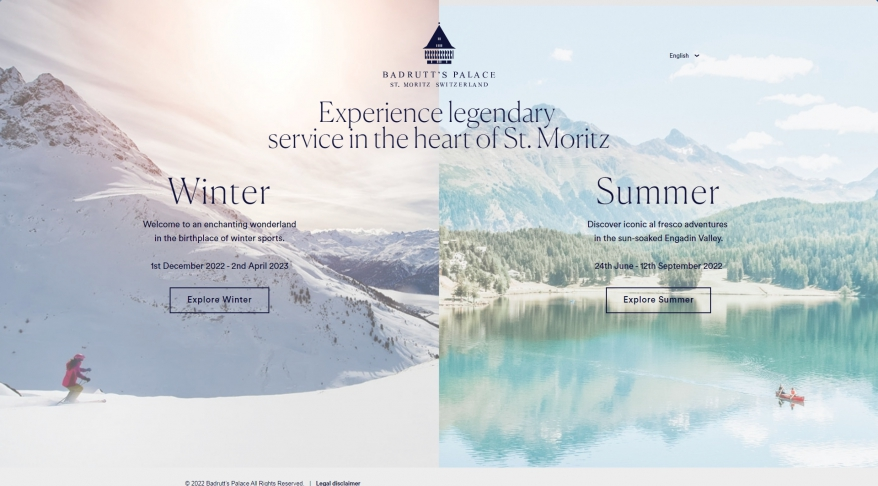 Badrutt's Palace Luxury Hotel in St. Moritz - Official Website - Badrutt\'s Palace Hotel St. Moritz