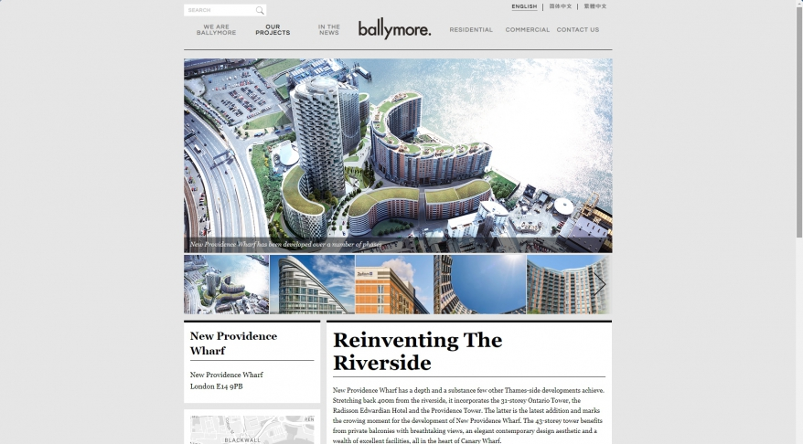 New Providence Wharf | Ballymore