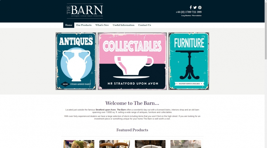Barn Antiques |  Home