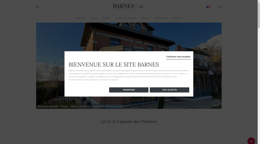 Barnes International Lille, Lille