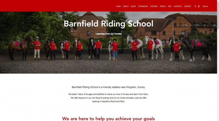 Barnfield Riding School