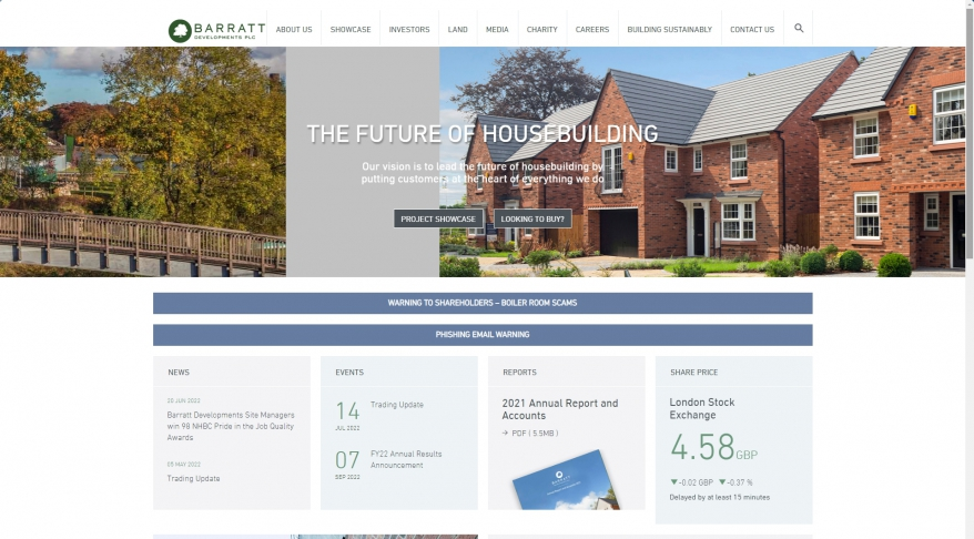 Catford Green, London – Barratt Developments Plc