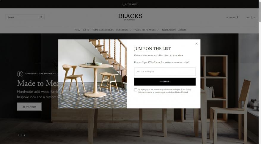 Blacks of Sopwell Ltd