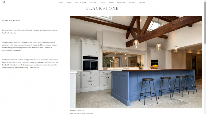 Handmade & Bespoke Kitchens - Blackstone Suffolk, Essex, Hertfordshire