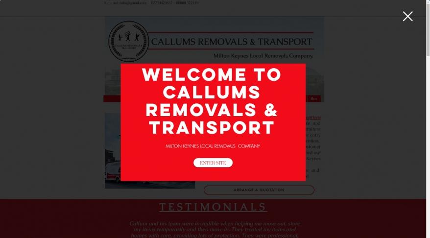 Callums Removals