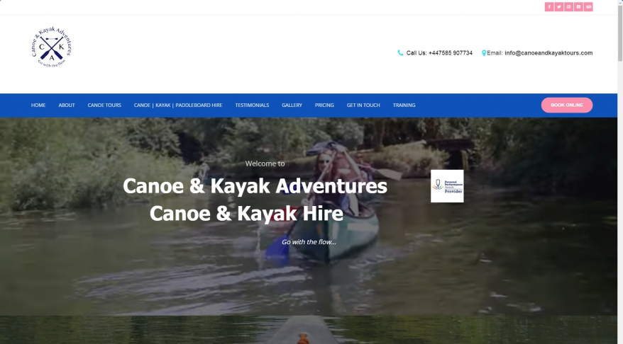 Canoe & Kayak Tours Ltd