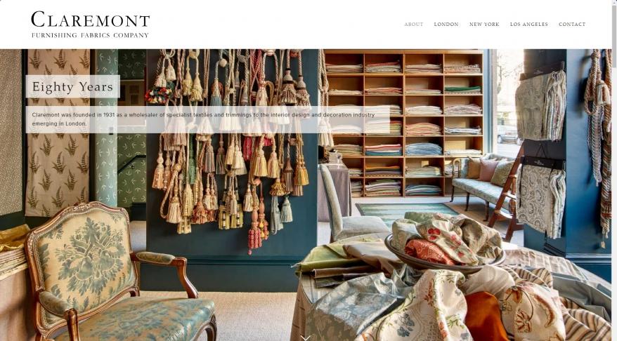 Claremont Furnishing Fabrics Ltd