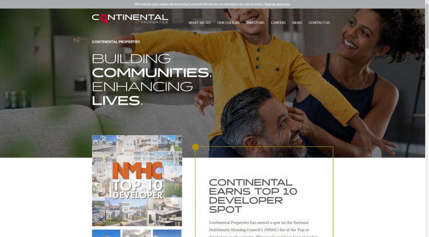 National Real Estate Developer | Continental Properties