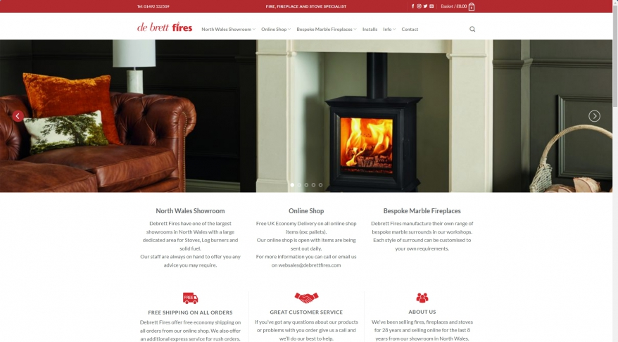 Debrett Fires Ltd