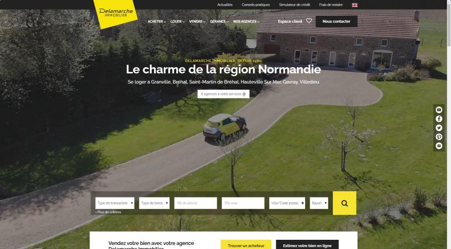 immobilier La Haye Pesnel, Bréhal, Saint-Martin de Bréhal, Gavray,...