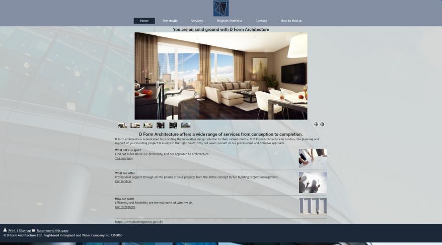 D Form Architecture Ltd Sponsored