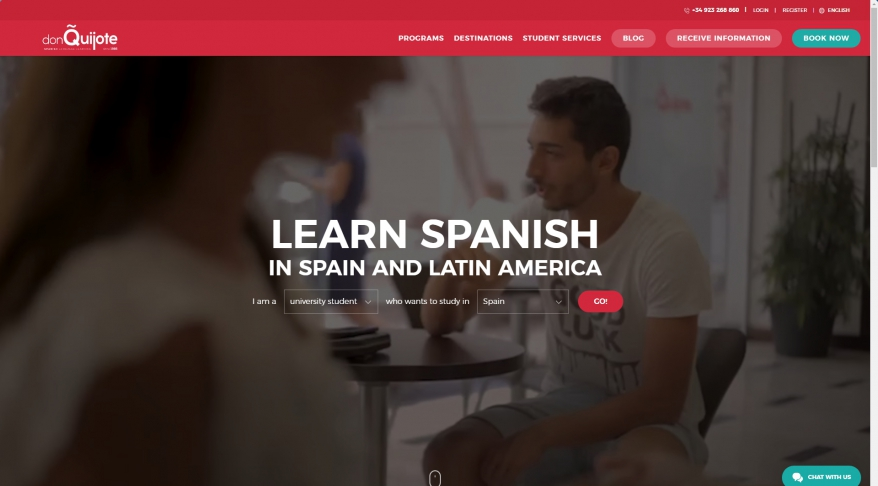 Don Quijote In Country Languages Courses Ltd