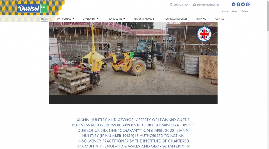 British Made Sustainable, Affordable ECO Friendly ICF | Durisol