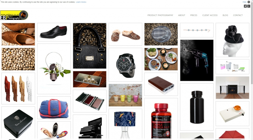 E B Product Photography