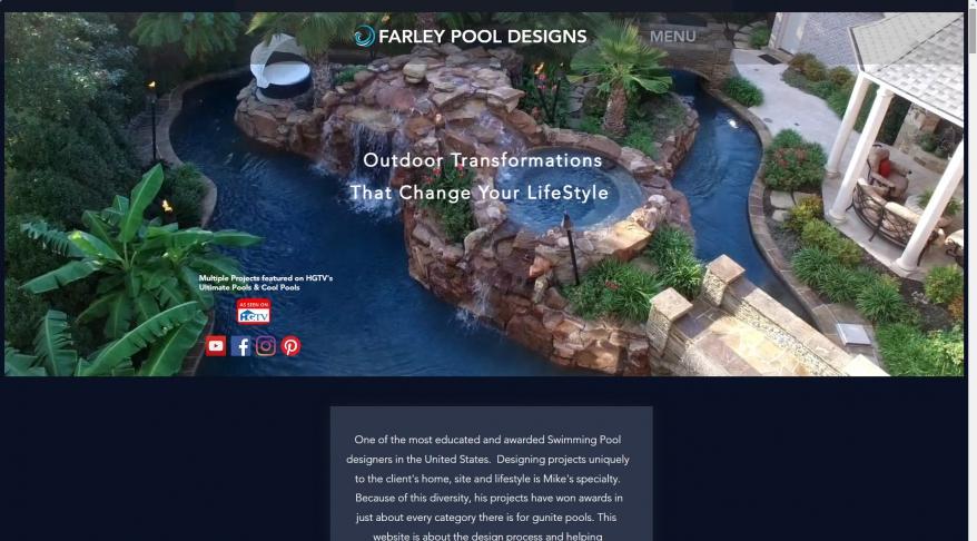 Mike Farley Pool Designer