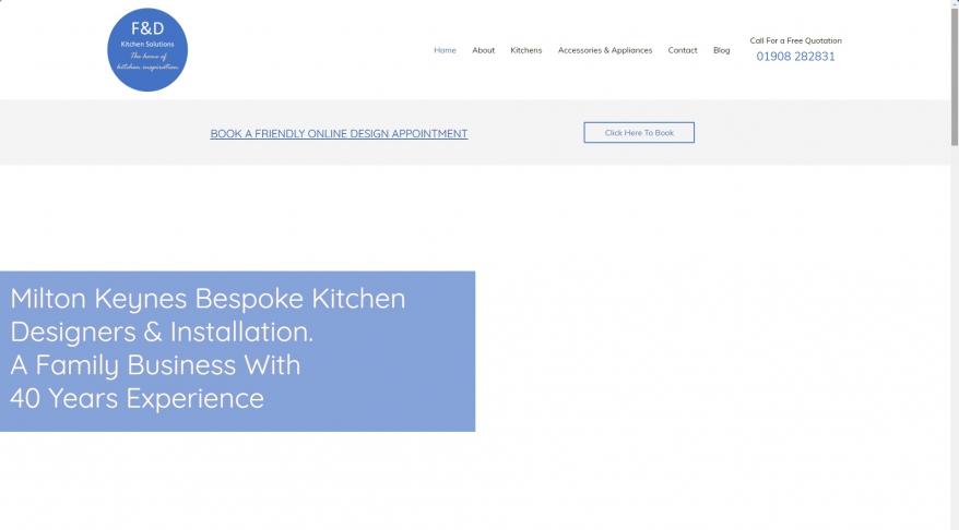 F & D Kitchens Solutions Ltd