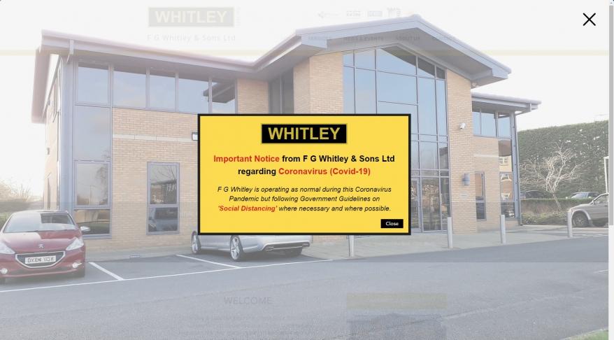F G Whitley & Sons Co Ltd