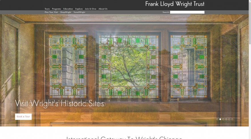 Architecture Tours in Chicago | Frank Lloyd Wright Trust