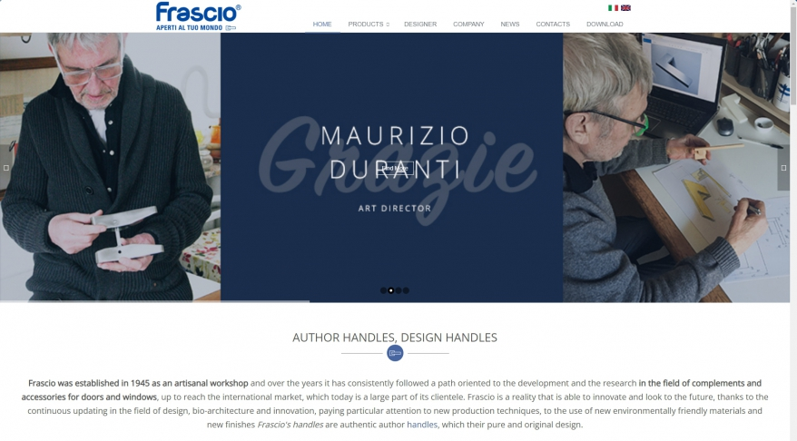 Frascio | Complements and Accessories Doors and Windows