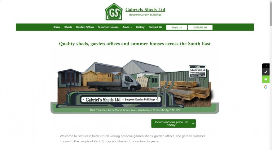 Gabriels Sheds Ltd