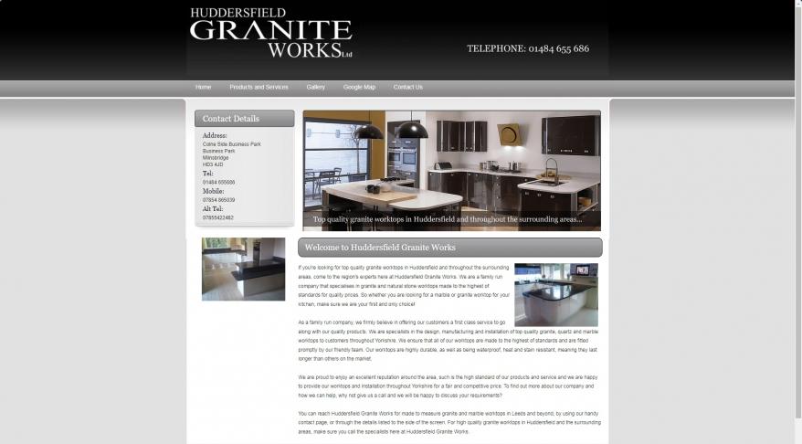 Granite Worktops in Huddersfield : Huddersfield Granite Works Ltd