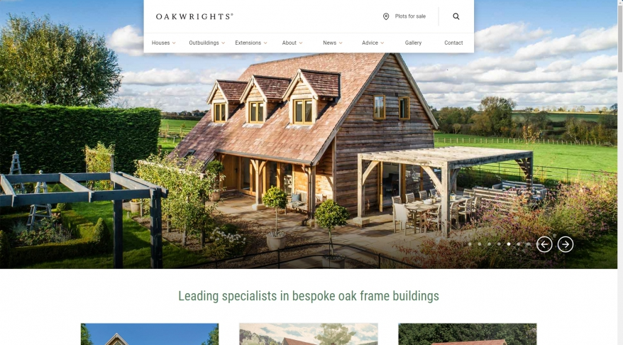 Oak timber extensions from Oakwrights | Greenrooms