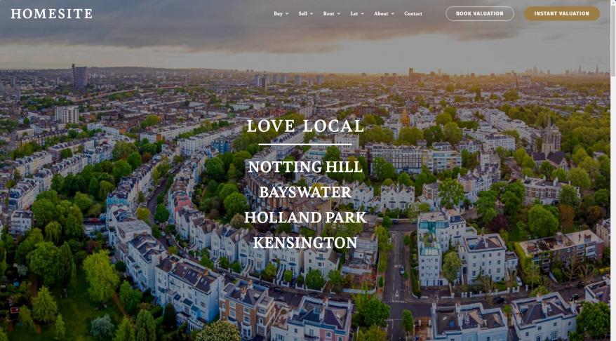 Homesite, Notting Hill - Sales
