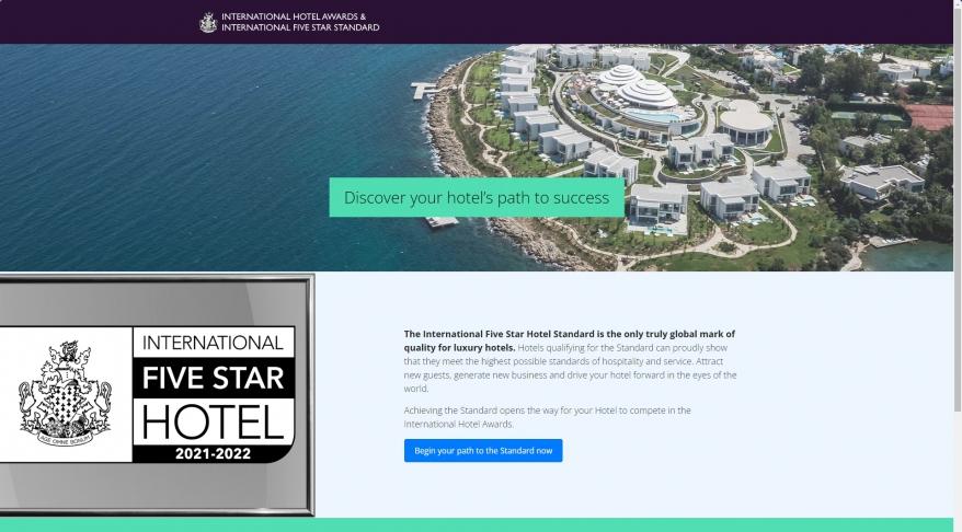 The International Five Star Hotel Standard » The new international standard for luxury hotels
