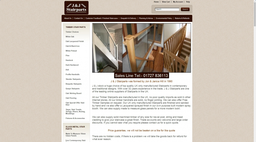 J & J Stairparts
