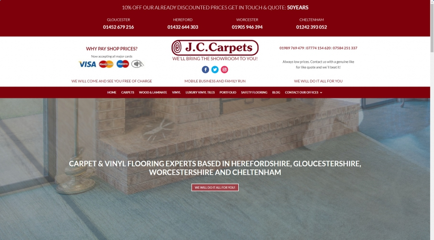 Carpet Fitters Gloucester