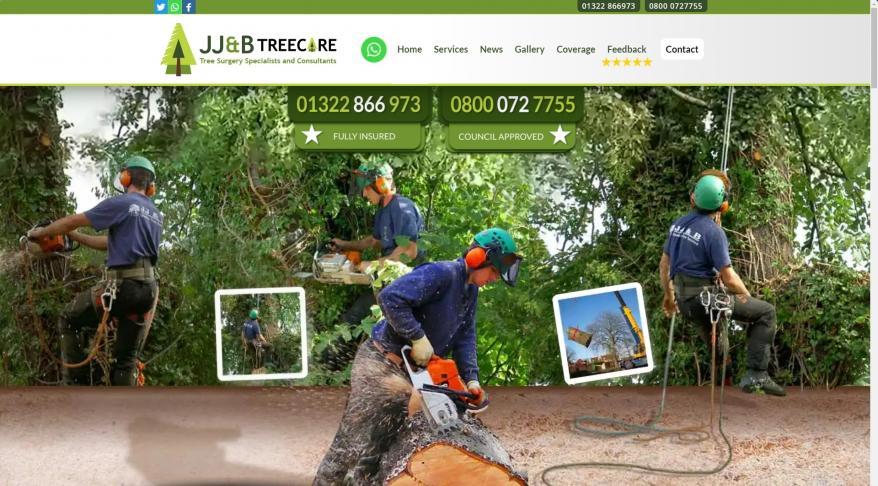 J J & B Treecare