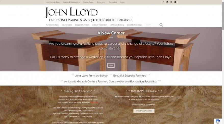 John Lloyd Woodworking & Fine Furniture School