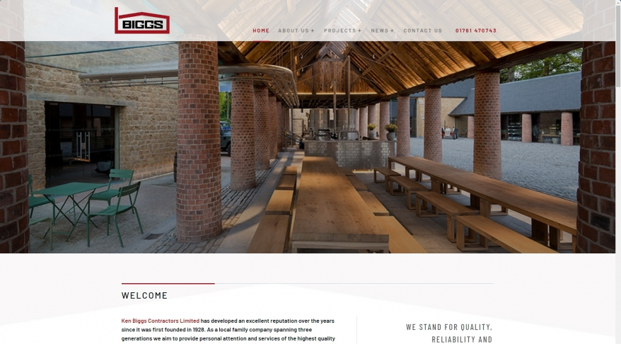 Ken Biggs Contractors Ltd - Ken Biggs Contractors Ltd - Commerical and Residential New Build, Restoration and Conservation, Schools and Hospitals, Industrial buildings