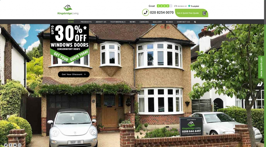 Kingsbridge Local Home Improvements Double Glazing Experts Surrey