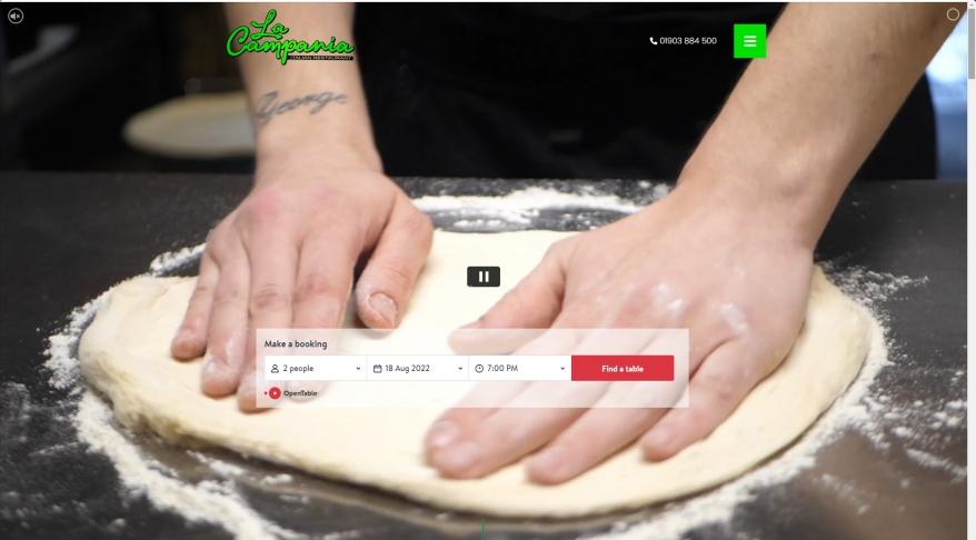 La Campania   Award Winning Italian Restaurants in West Sussex