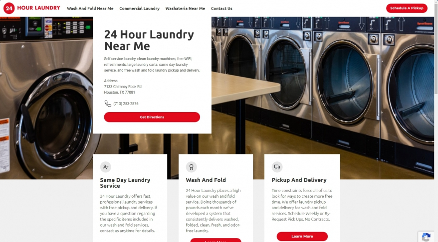 Laundromat Houston Texas