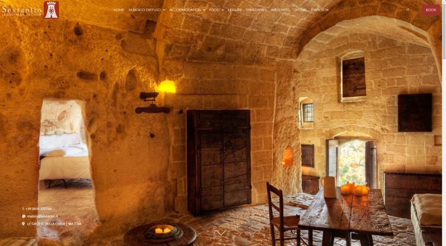 Le Grotte della Civita   Albergo diffuso in Matera   Official