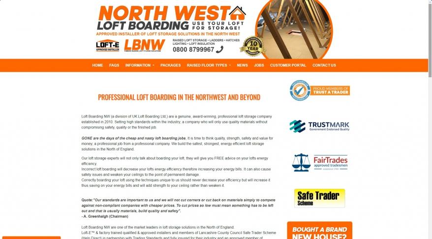 Loft Storage Solutions & Loft Boarding Northwest