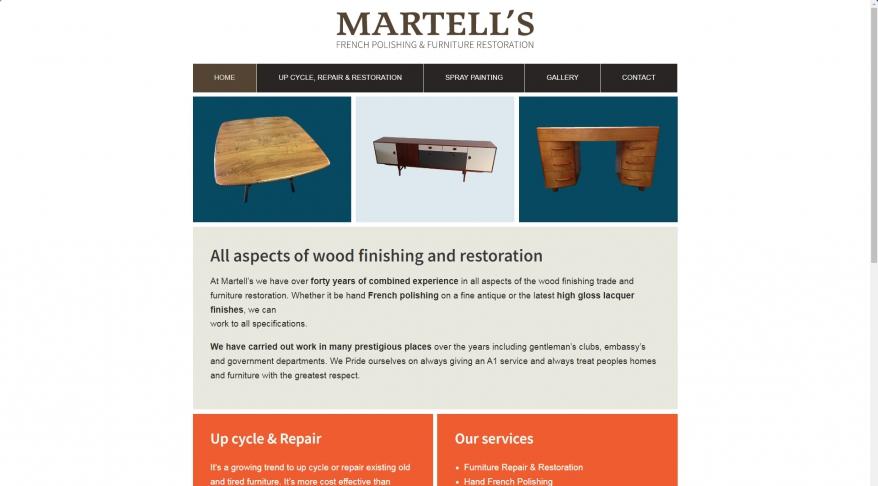 Martells French Polishing