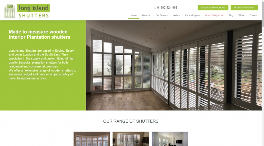 Long Island Shutters – Quality Wooden Interior Shutters