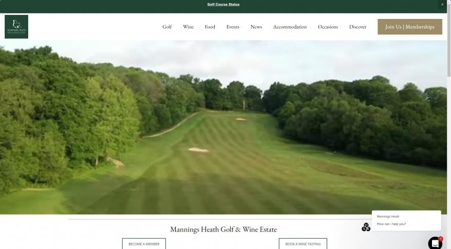 Mannings Heath Golf Course